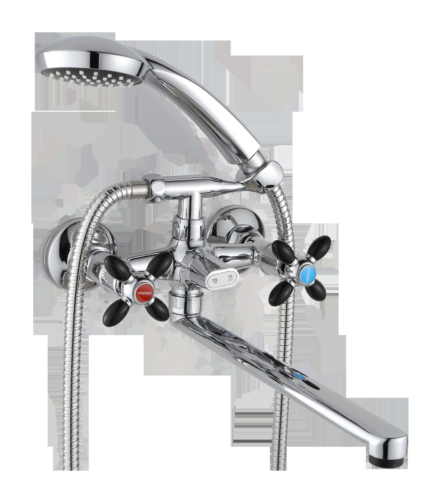 Двухручковый смеситель для ванны D2171-7