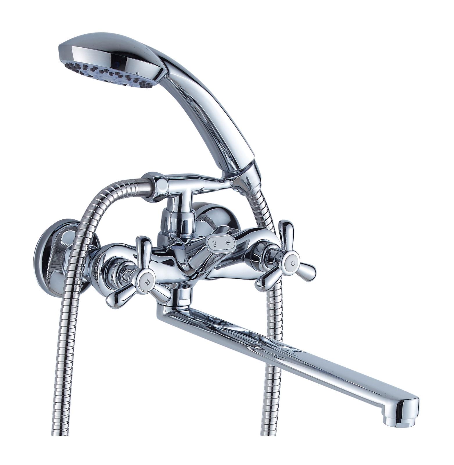 Двухручковый смеситель для ванны D2252