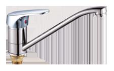 Одноручковый смеситель для кухни D4816