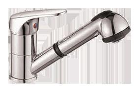 Одноручковый смеситель для кухни D6001