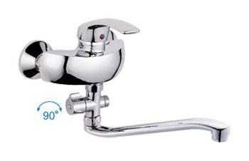 Одноручковый cмеситель для ванны D2136