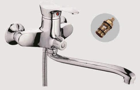 Одноручковый смеситель для ванны D2201