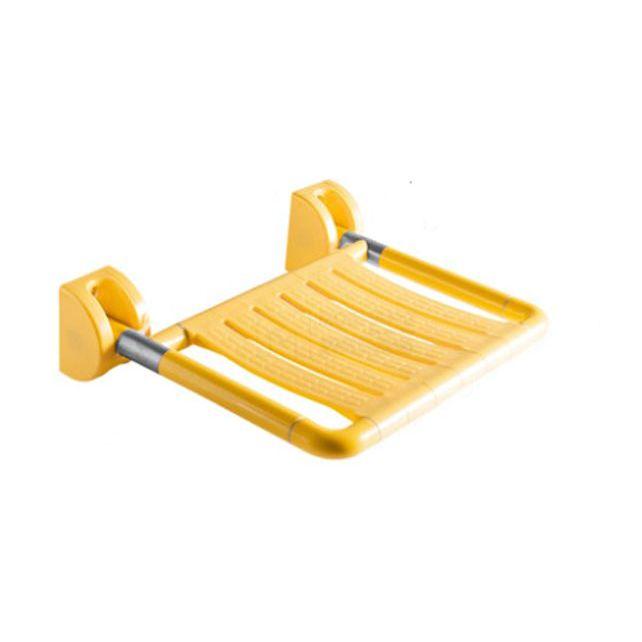 Сиденье для душа откидное желтое 5W010-Y