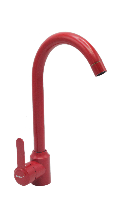 B4051 (красный) Смеситель для кухни