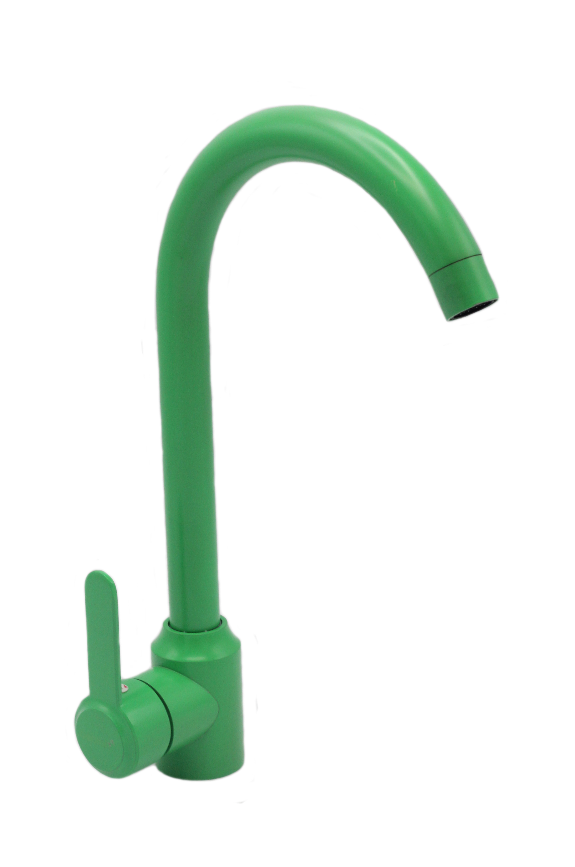 B4051(зеленый) Смеситель для кухни