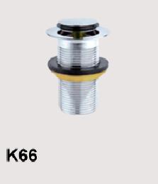 K66 Донный клапан нажимной