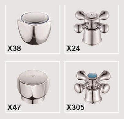 Двухручковый смеситель для кухни D3009-X
