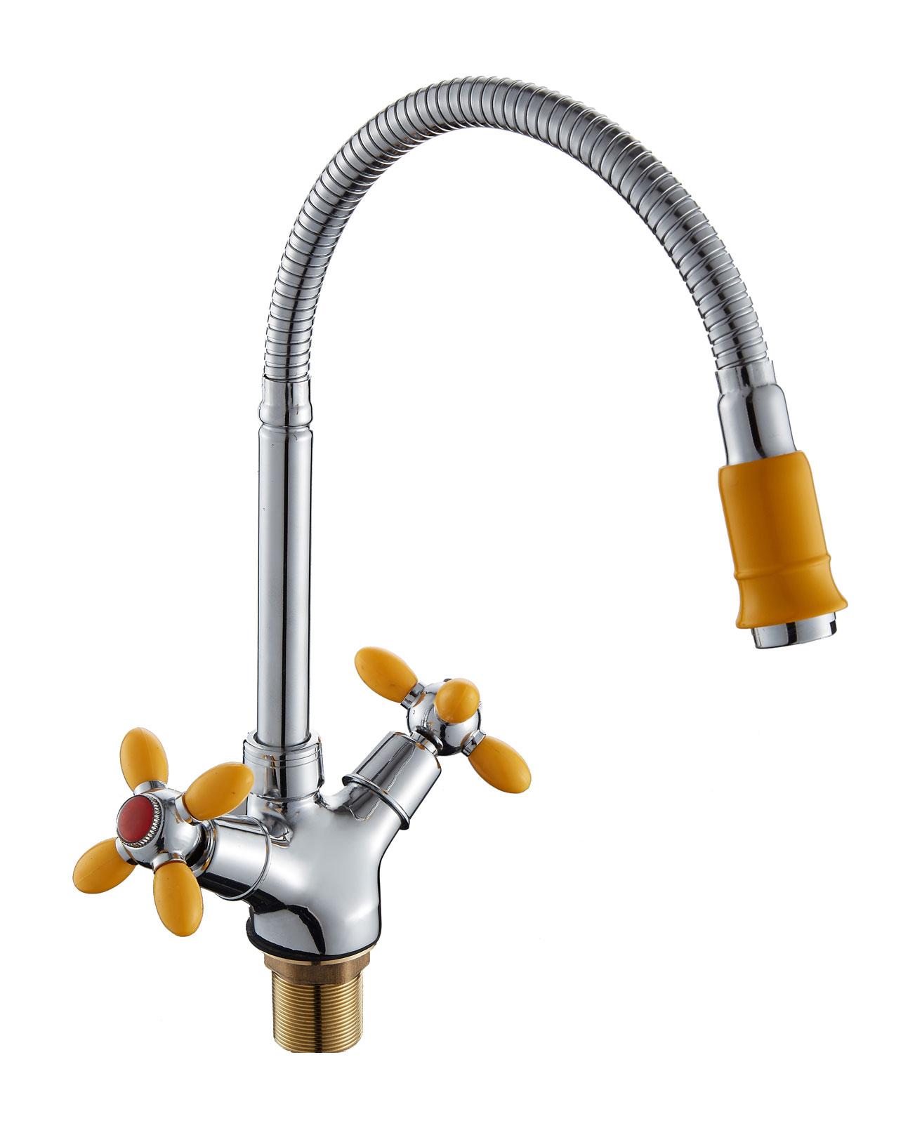 Двухручковый смеситель для кухни D5871-9