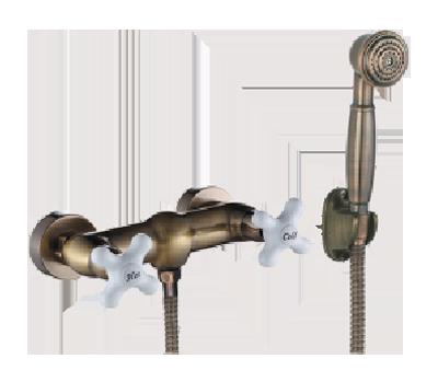 Двухручковый смеситель для душа D2085-3 (K6157)