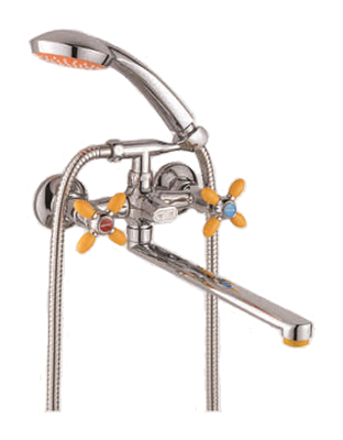 Двухручковый смеситель для ванны D2171-9