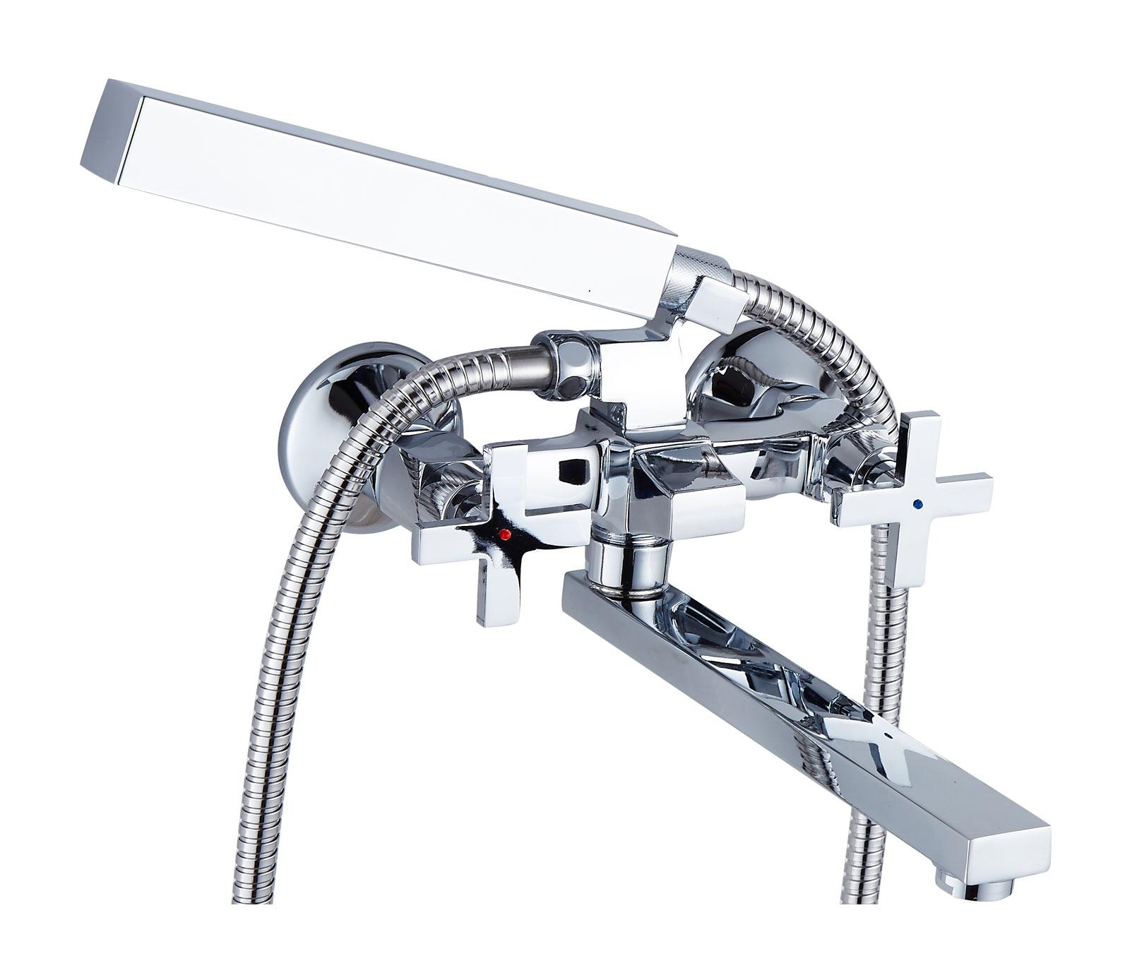 Двухручковый смеситель для ванны D2284-2