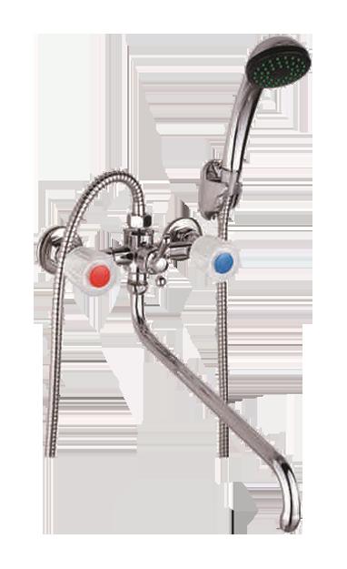 Двухручковый смеситель для ванны D2644-2