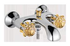 Двухручковый смеситель для ванны D3088