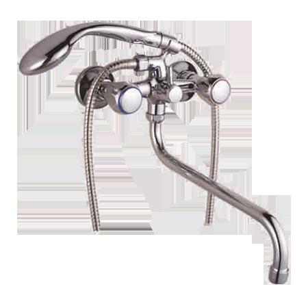 Двухручковый смеситель для ванны T4500-X52