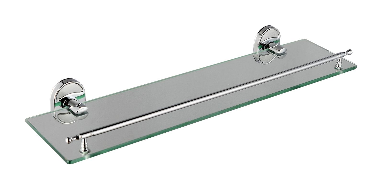Полка стеклянная настенная D1907