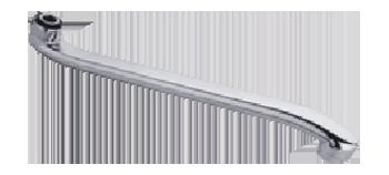 Излив для смесителя плоский P03-30