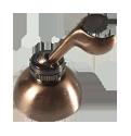 Держатель для лейки настенный металлический K1-01-B