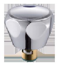 Маховик металлический с юбкой и кран-буксой на 20 шлицов A220