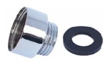 Переходник для подключения шлангов на короткие смесители P29-1