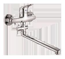 Одноручковый смеситель для ванны D2116