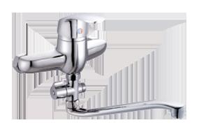 Одноручковый смеситель для ванны D2151