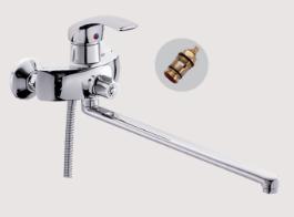 Одноручковый смеситель для ванны D2236-2