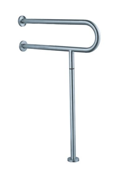 7W001(МАТ) Поручень U-образный с креплением к полу
