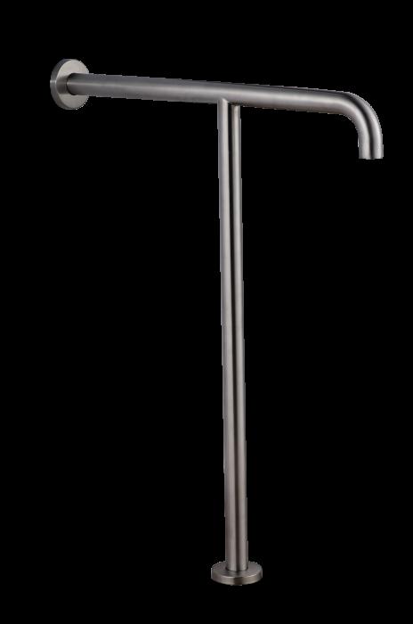 7W004(МАТ) Поручень T-образный с креплением к полу