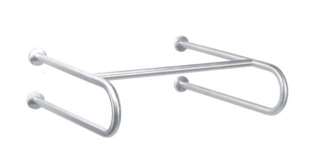 7W021(МАТ) Поручень для раковины настенный;