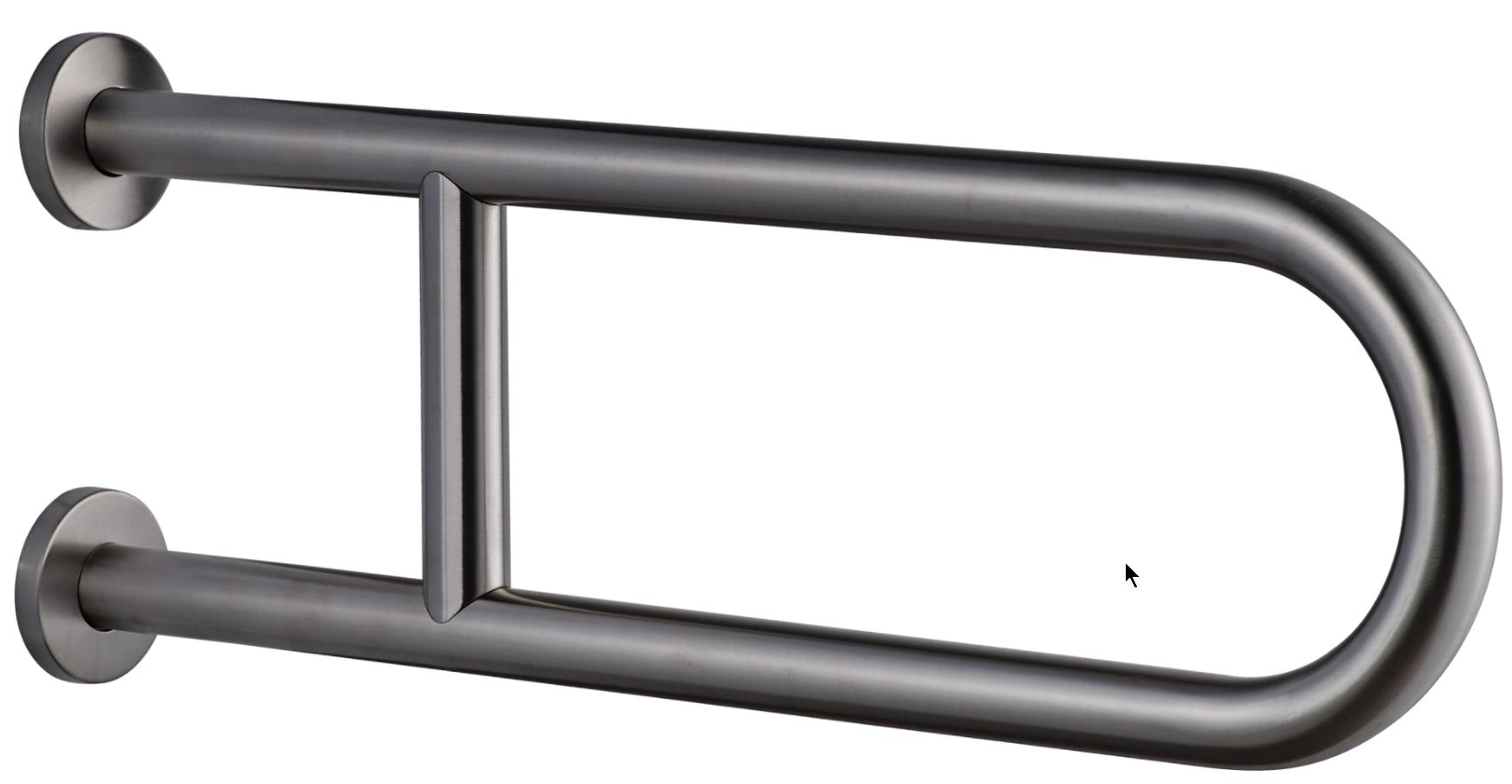 7W003(МАТ) Поручень U-образный опорный на стену подъемный подъемный